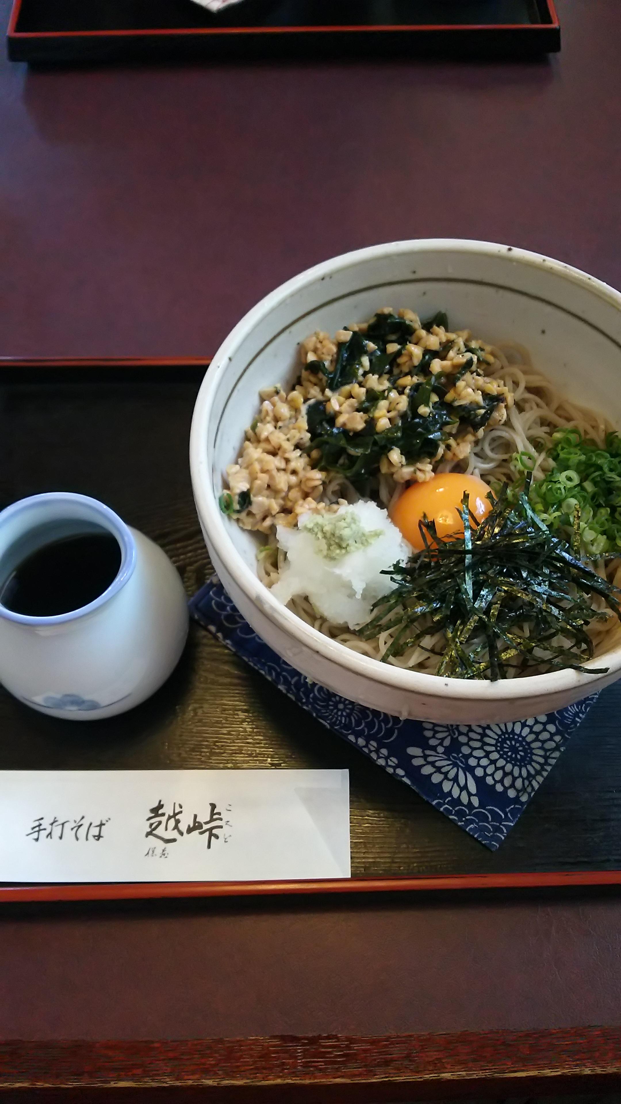 【レビュー】神奈川県伊勢原市 手打ち蕎麦 越峠(こえど)に来てみた