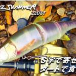 ダウズスイマー220SFが熱い!秦拓馬プロデュースの3連ジョイントビッグベイトルアー!