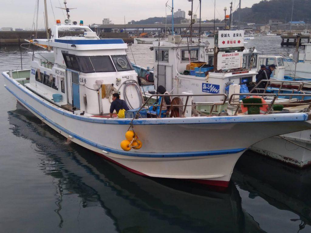 片名漁港 優勢丸 ヒラメ・青物釣り